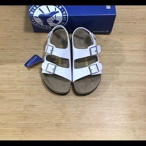 d6a496d60208 Birkenstock Shoes - SALE 🌻Birkenstock Milano Birko-Flor white 🌻